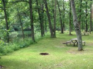 Balsam Lake Campsite